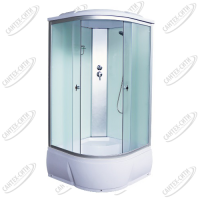 Душевая кабина AquaCubic 3102D fabric white