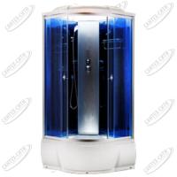 Душевая кабина AquaCubic 3303B blue mirror