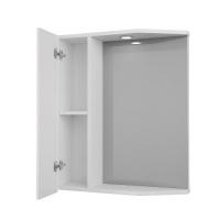 Зеркало-шкаф Merkana Болония 55 см левый