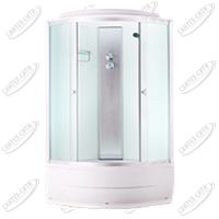 Душевая кабина AquaPulse 4002D fabric white