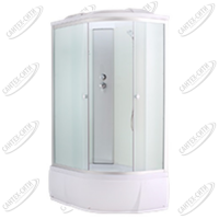 Душевая кабина AquaPulse 4006D Левая fabric white