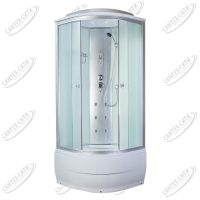 Душевая кабина AquaPulse 4101B fabric white