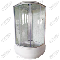 Душевая кабина AquaPulse 4103D square white