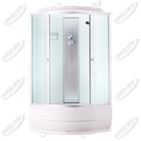 Душевая кабина AquaPulse 4103D fabric white