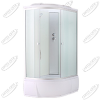 Душевая кабина AquaPulse 4006D Правая fabric white