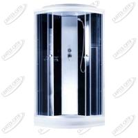 Душевая кабина AquaPulse 4123D grey black
