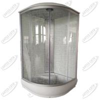 Душевая кабина AquaPulse 4123D square white