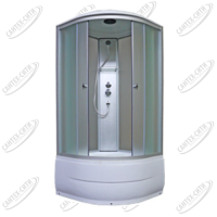 Душевая кабина AquaPulse 4202D fabric white