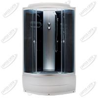Душевая кабина AquaPulse 4302D grey black