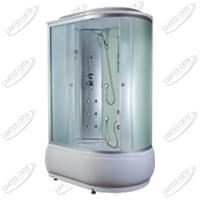 Душевая кабина AquaPulse 4306A Левая fabric white