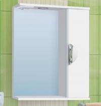 Зеркало-шкаф Vako Ника 50 см правый