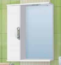 Зеркало-шкаф Vako Ника 55 см левый