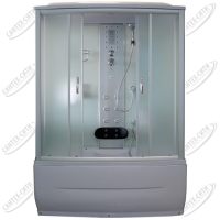 Душевая кабина AquaPulse 7807 fabric white