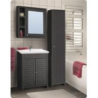 Зеркальный шкаф Vako Mocco 80 см