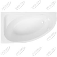 Ванна акриловая AQUANET MIA 140x80 Левая