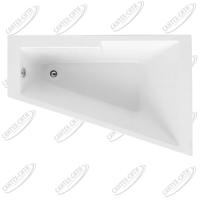 Ванна акриловая AQUANET ACCORD 150x100 Правая