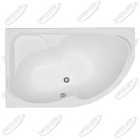 Ванна акриловая AQUANET ALLENTO 170x100 Левая