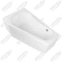Ванна акриловая AQUANET BRIZE 160x90 Левая