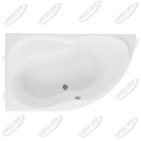 Ванна акриловая AQUANET GRACIOSA 150x90 Левая