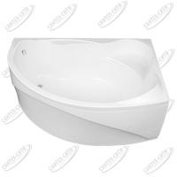 Ванна акриловая AQUANET JAMAICA 160x100 Правая