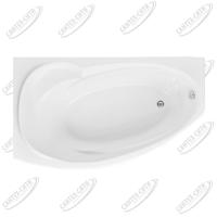 Ванна акриловая AQUANET JERSEY 170x90 Левая