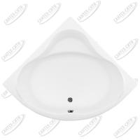 Ванна акриловая AQUANET SANTIAGO 160x160