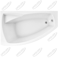 Ванна акриловая Marka One ASSOL 160x100 Левая
