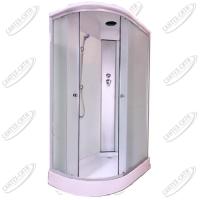 Душевая кабина AquaCubic 3126D Правая fabric white