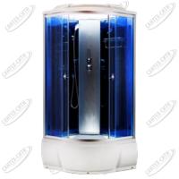 Душевая кабина AquaCubic 3302D blue mirror