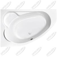 Ванна акриловая Cersanit Kaliope 170x110 Левая