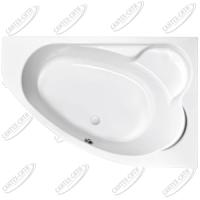 Ванна акриловая Cersanit Kaliope 170x110 Правая
