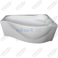 Ванна акриловая Marka One GRACIA 160x95 Правая