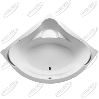 Ванна акриловая Marka One PALERMO 150x150