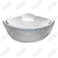Ванна акриловая Marka One TRAPANI 140x140