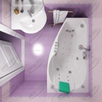 Ванна акриловая Triton Бриз 150x95 Левая
