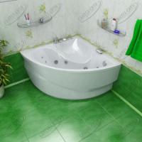 Ванна акриловая Triton Синди 125x125