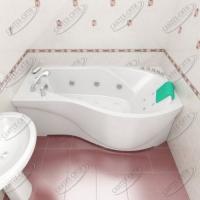 Ванна акриловая Triton Мишель 170x95 Левая