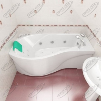 Ванна акриловая Triton Мишель 170x95 Правая