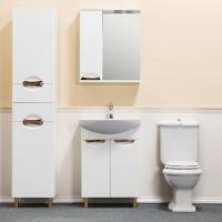 Зеркало-шкаф WL Blumarin Элеганс 60 см левый
