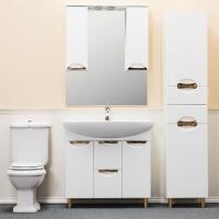 Зеркало-шкаф WL Элеганс 85 см