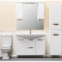 Зеркало-шкаф WL Элеганс 105 см