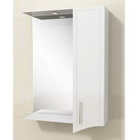 Зеркало-шкаф Merkana Аллегро 55 см правый