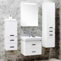 Зеркальный шкаф Акватон Америна 60 см левая