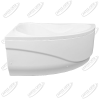 Ванна акриловая AQUANET MALDIVA 150x90 Левая