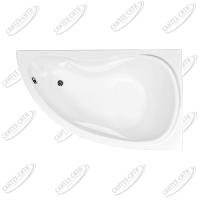 Ванна акриловая AQUANET MALDIVA 150x90 Правая