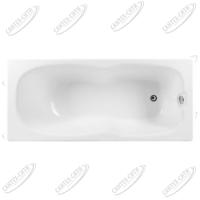 Ванна акриловая AQUANET Riviera 170x75