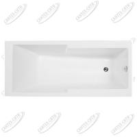 Ванна акриловая AQUANET TAURUS 160x75