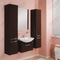 Зеркало Акватон Ария 80 см темно-коричневое