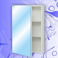 Зеркальный шкаф Андария Град 45 см