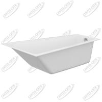 Ванна акриловая Cersanit Crea 160x100 Левая